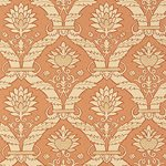 5003651 Siena Damask Terra Cotta by FSchumacher