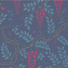 100/9042.CS Egerton Indigo by Cole & Son